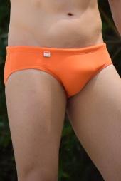 Sunga cavada SLIM laranja