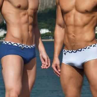 Luxury Rio Beachwear em sungas slim e clássicas com qualidade e sofisticação