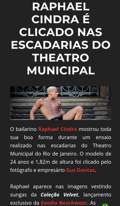 Raphael Cindra para DYO magazine por Gus Dantas
