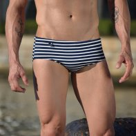 Sunga CLASSIC navy stripes